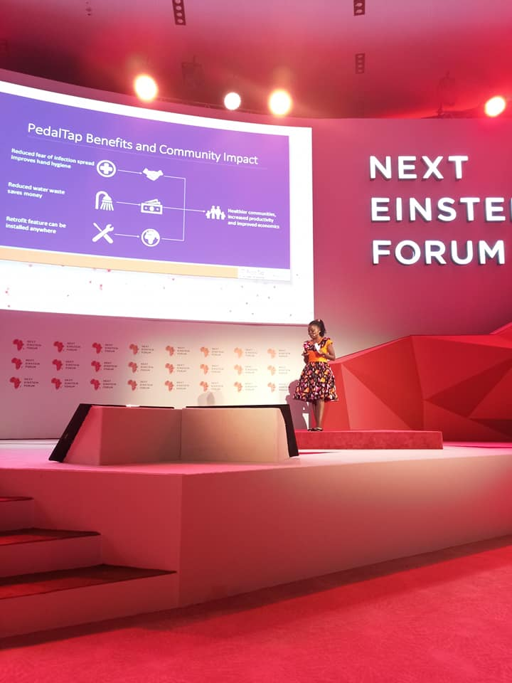 Pedaltap at the Next Einstein Forum NEF 2018